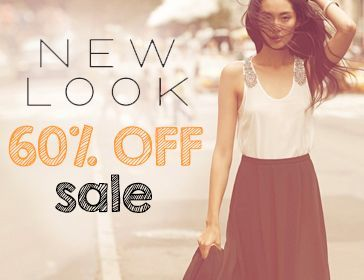 New Look 60% off Sale