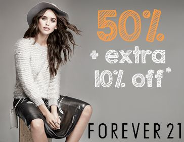 Forever 21 Sale Discount Offer