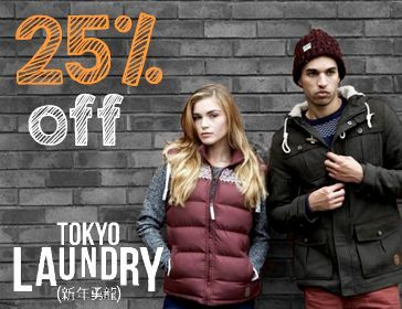 Tokyo Laundry 25% off Sale