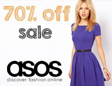 ASOS 70% off Sale