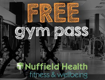Free Gym Pass Nuffield Offer