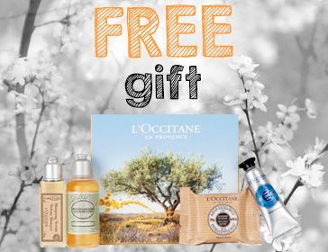 Free L'Occitane Gift Offer