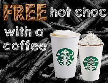 Starbucks Free Hot Chocolate
