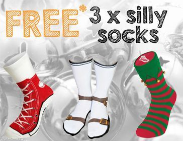 IWOOT Silly Socks Student