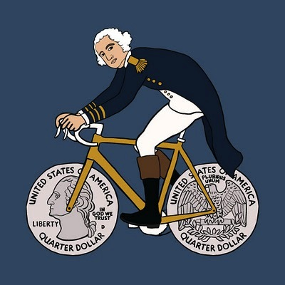 george washington cycling