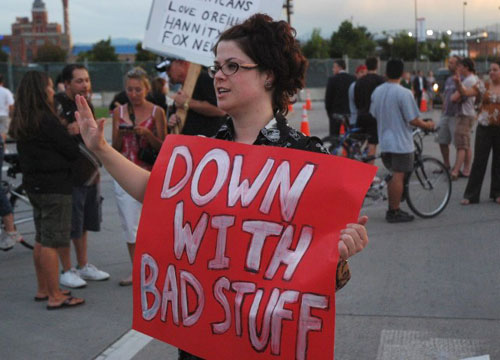 funny generic protest sign