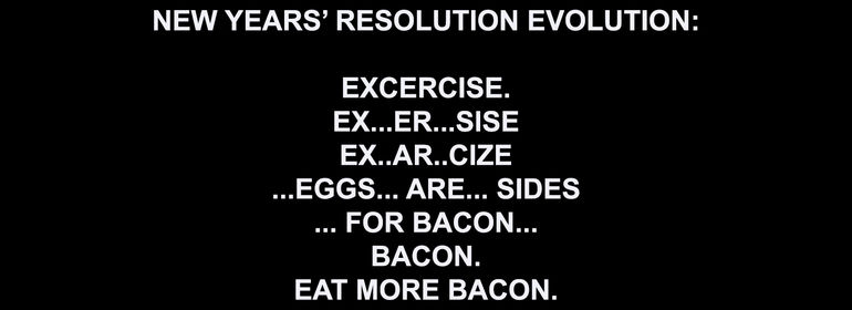 news years resolutions