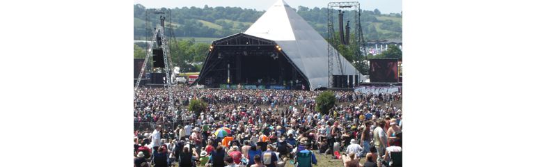 glastonbury festival job