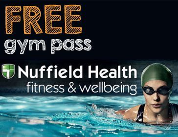 Nuffield Free Gym Visit