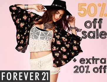 Forever 21 Sale Code