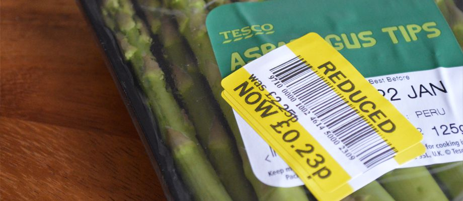 reduced food in supermarkets