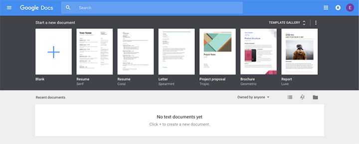 google docs microsoft alternative