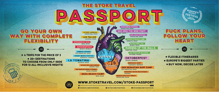 stoke travel student discount