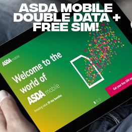 Double Your Data On Asda Mobile S 30 Day Bundles Student Money Saver