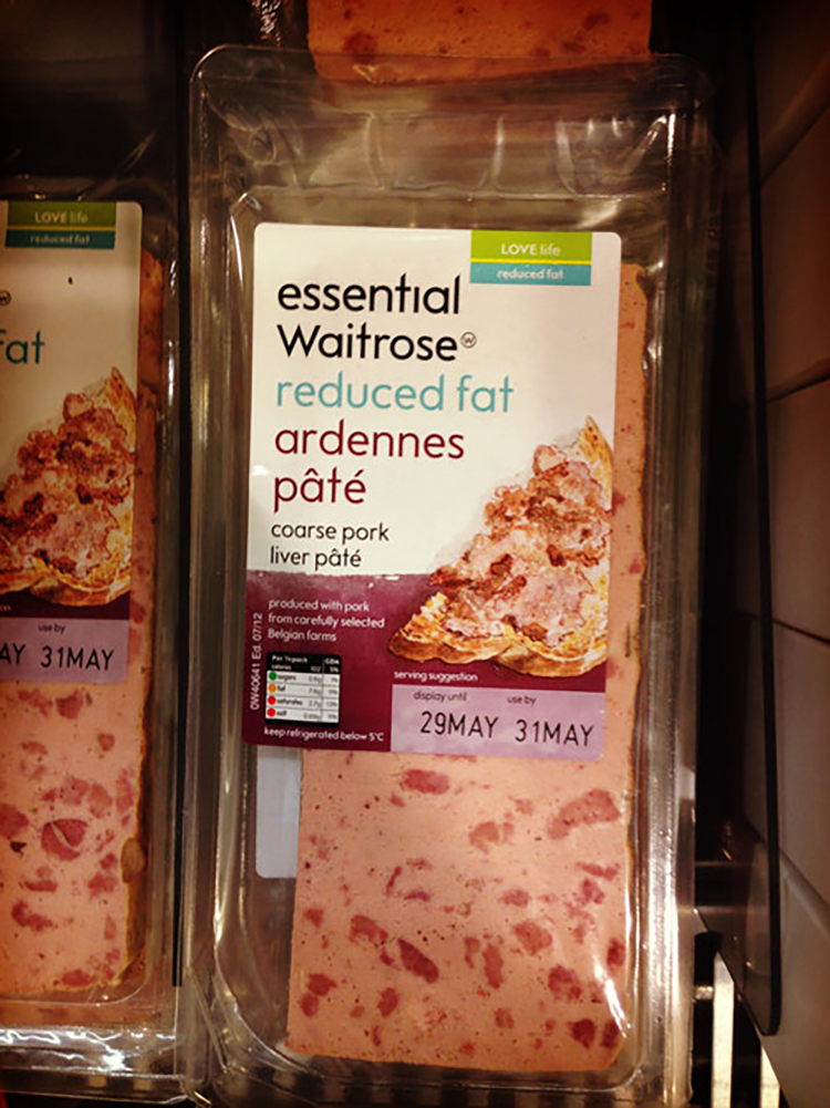 waitrose essential pates