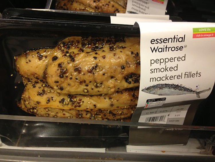 mackerel fillets waitrose essentials