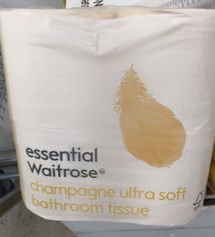 essential waitrose toilet paper